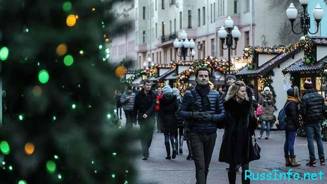 Погода в декабре в Москве