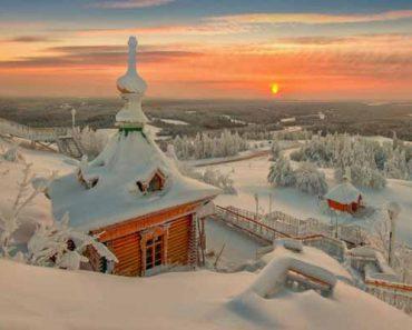 истинная русская зима