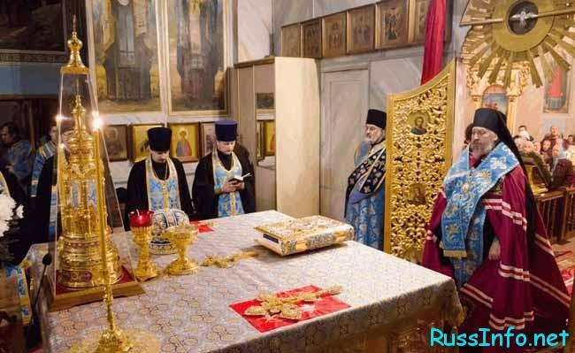 Введение в священный храм Пресвятой Богородицы
