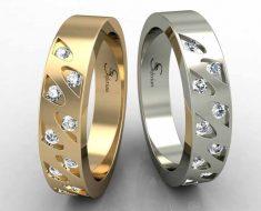 кольцо из платины дороже