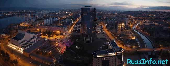 Красноярск – один из крупнейших экономических и культурных центров Российской Федерации