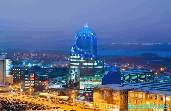 Самара – город, который расположен в практически в самом центре Поволжья