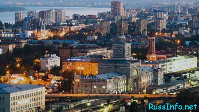 Волгоград – город, который расположен на европейской части Российской Федерации