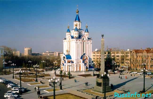 Хабаровск – один из крупнейших городов Дальневосточного края