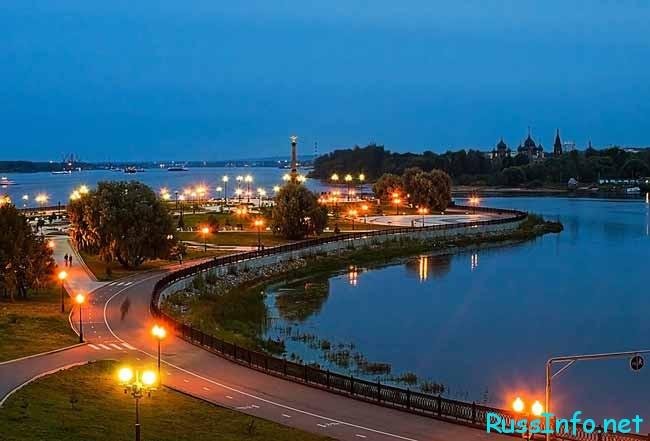 Ярославль – административный центр Ярославской области