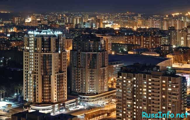 Екатеринбург является крупным административным центром Уральского округа