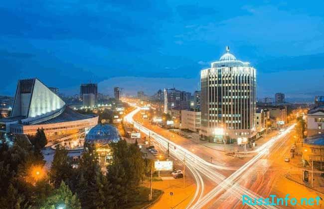 Новосибирск – третий по численности российский город