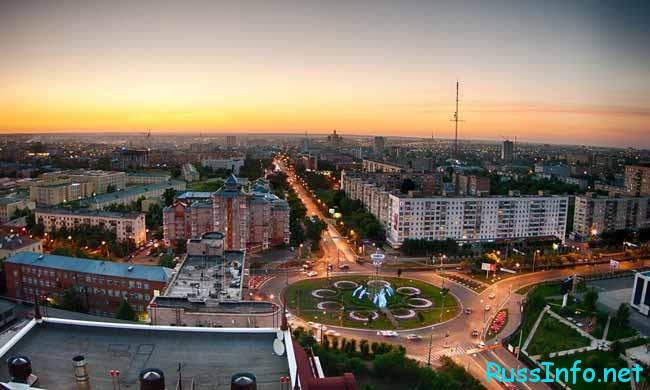 Оренбург – административный областной центр