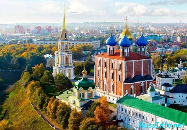 Рязань – один из крупнейших городов Российской Федерации