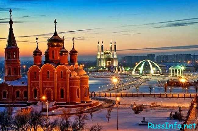 Февраль в Казахстане