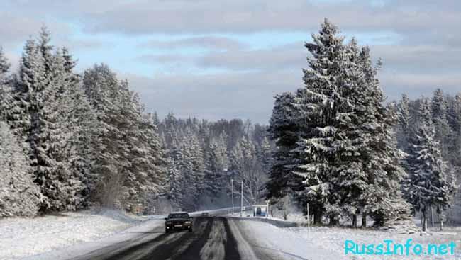 Февраль в Беларусии