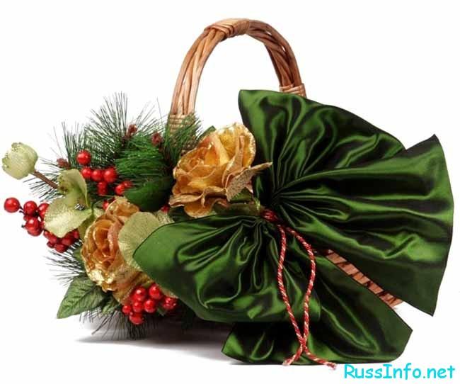 создание подарочных корзин