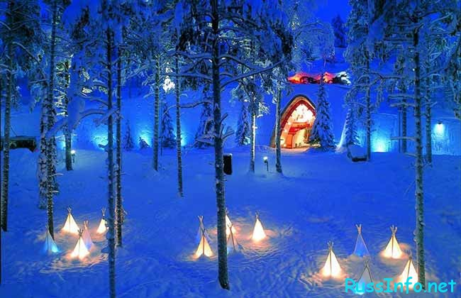 Любителям зимнего отдыха понравится в Финляндии