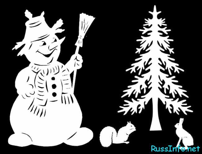 Как появился снеговик?