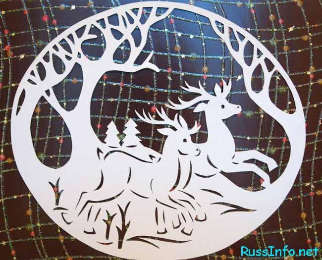 Олень, как символ Нового года