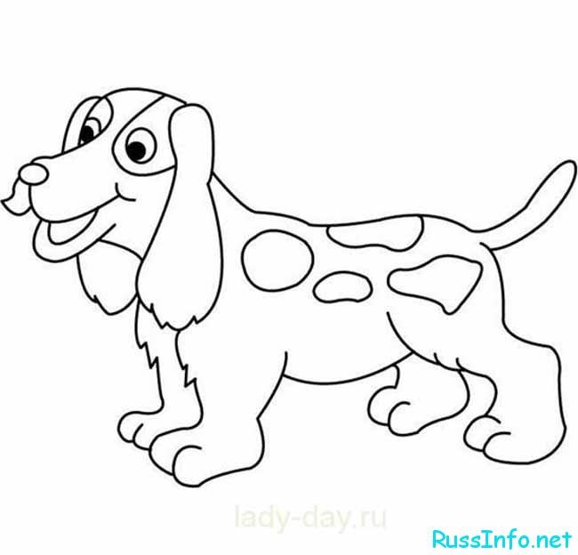 специальныешаблоны собак для детского сада вытынанок
