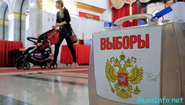 выборы руководителя в России