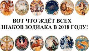 Какой будет 2018 год по знаку зодиака