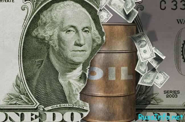 доллары и нефть