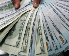 один доллар будет стоит около 57,5 рублей