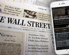 по версии The Wall Street Journal