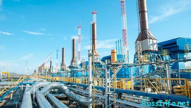 производство Газпрома
