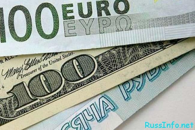 рубль евро