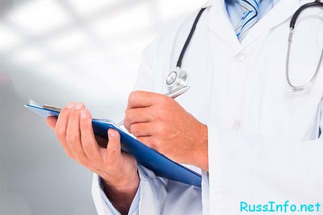 врач за работой