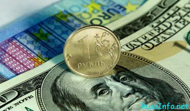 рубль в октябре