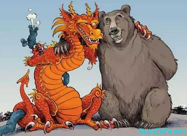 Связь Между Китаем и Россией
