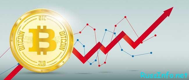 стоимость основополагающей криптовалюты Биткоин