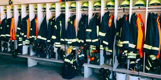 Новая форма пожарного.