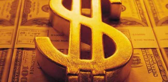 Значок доллара.