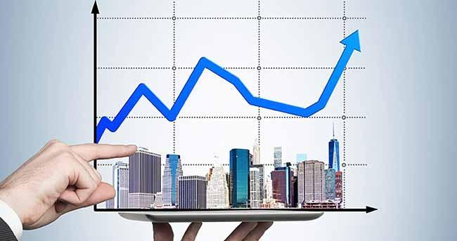 Картинка-график повышения цены недвижимости