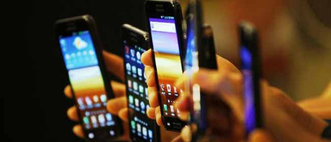Разные модели мобильных телефонов
