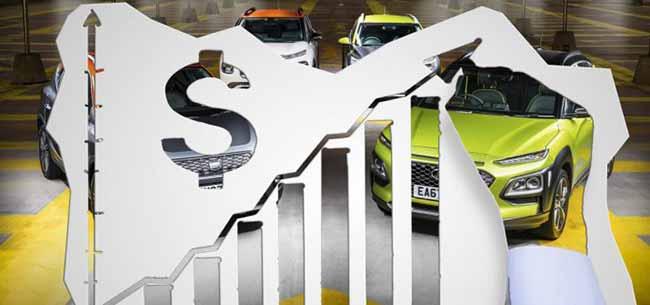 Фотоколлаж авто и подорожание цен