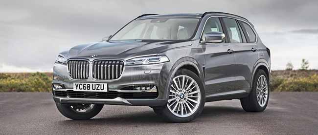 Автомобиль BMW X7
