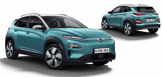 Автомобиль HyundaiKonaElectric