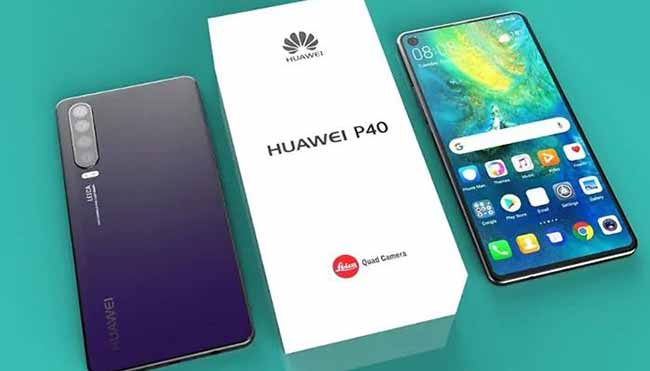 Телефон Huawei P40 с коробочкой