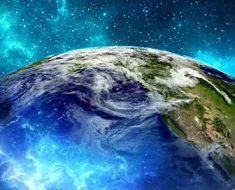 Космос, планета Земля