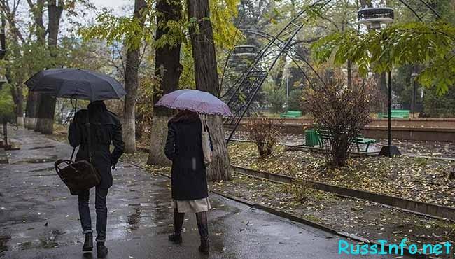 Погода в апреле в Казахстане