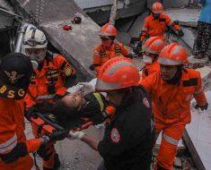 Последствия землетрясений в Казахстане