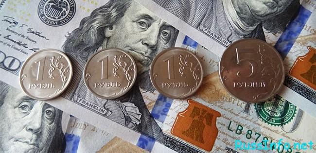 Российский рубль в 2021 году