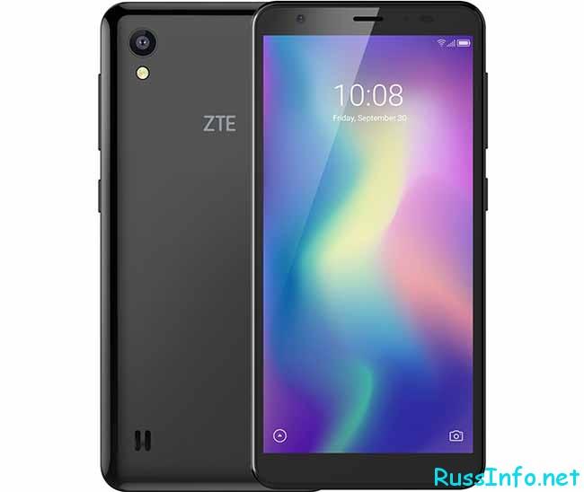 Новинка смартфона ZTE