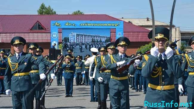 День Нацгвардии в Казахстане