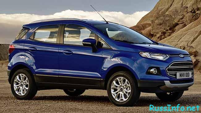 Кроссовер Ford модель EcoSport