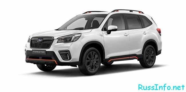Новая модель Subaru Forester Sport