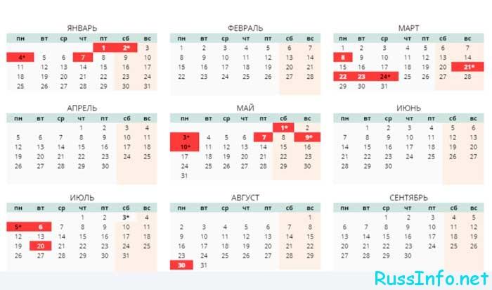 Государственные праздники в Казахстане в 2021 году