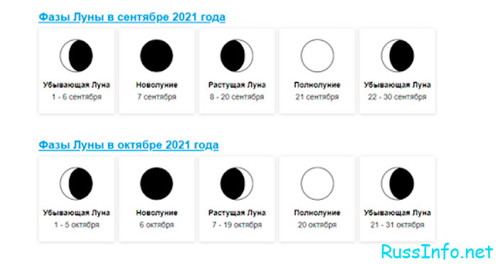 Когда будет новолуние в октябре 2021 года в Казахстане?